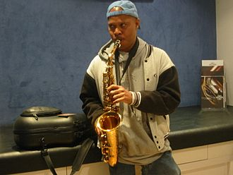 Jazz fusion - Steve Coleman in Paris, July 2004
