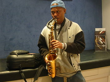 Steve Coleman in Paris, July 2004