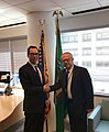 Steven Mnuchin and Carlos Urzua in April 2019.jpg
