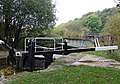Stockton Brook Middle Lock and Railway Bridge, Staffordshire - geograph.org.uk - 597387.jpg