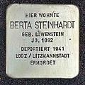 Stolperst maximilianstrasse 1 steinhardt berta.jpg
