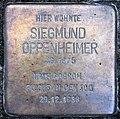 Stolperstein Bregenzer Str 16 (Wilmd) Siegmund Oppenheimer.jpg