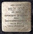 Stolperstein Emser Str 109 (Neukö) Willy Pese.jpg
