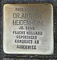 Stolperstein Köln Ebertplatz 15 Dr Arthur Heidenheim.jpg