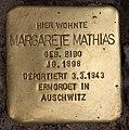 Stolperstein Pariser Str 6 (Wilmd) Margarete Mathias.jpg