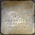 Stolperstein Salzburg, Alfred Schuech (Imbergstiege 4).jpg