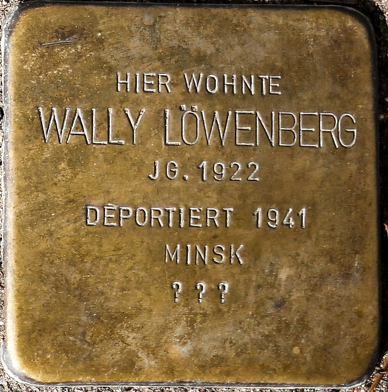 Stolperstein Wally Löwenberg.jpg