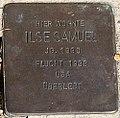Stolperstein für Ilse Samuel.jpg