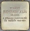 Stolperstein für Jolan Buchsbaum - Buchsbaum Jolan (Budapest).jpg