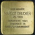 Stolpersteine Köln Roesrather Strasse 593 Margot Drucker.jpg