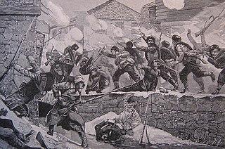 Battle of Pirot Decisive battle in the Serbo-Bulgarian War