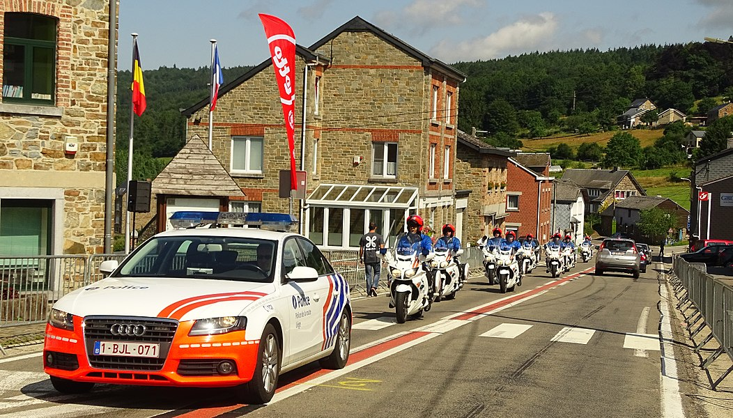 Reportage réalisé le jeudi 16 juillet à l'occasion du départ et de l'arrivée du Tour de la province de Liège 2015 à Stoumont, Belgique.