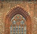 Stralsund, Jacobikirche, přední okno.JPG