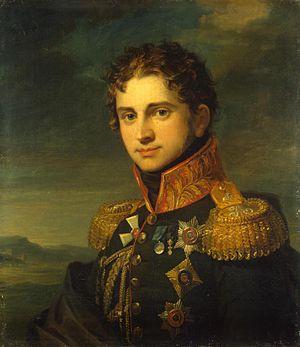 Pavel Alexandrovich Stroganov - Count Pavel Alexandrovich Stroganov, by George Dawe