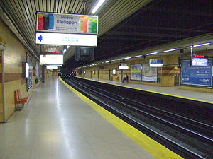 Varela (Buenos Aires Underground) - Image: Subte Varela