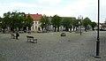 Suchan, market square.JPG