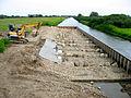 Sude Abschlusswehr bei Boizenburg, Bau einer Fischaufstiegshilfe 2011.jpg