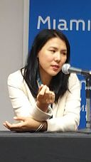 Suki Kim, Miami Book Fair 2015 - 2.jpg
