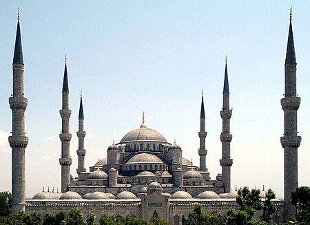 مسجد السلطان أحمد.