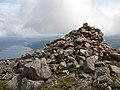 Summit cairn on Beinn na Caillich - geograph.org.uk - 1048394.jpg