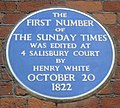 Sunday Times plaque London 1822.jpg