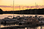 Sunset - Ricks Boatyard (2669253413)