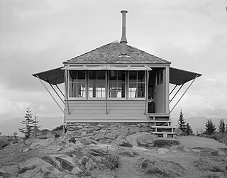 Suntop Lookout place in Washington listed on National Register of Historic Places