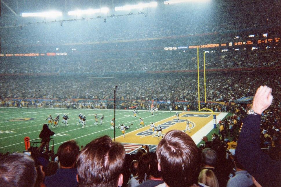 Super Bowl XXXIV One Yard Short