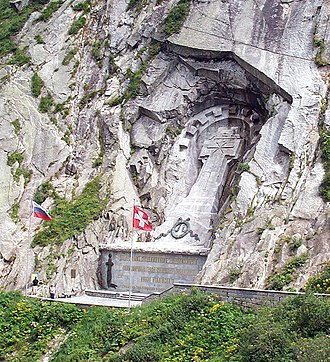 Alexander Suvorov - Suvorov monument in the Swiss Alps