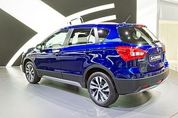 Suzuki S-Cross - Mondial de l'Automobile de Paris 2016 - 001.jpg