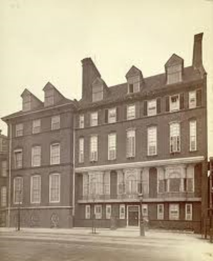 Swan House, Chelsea Embankment - Swan House, circa 1885