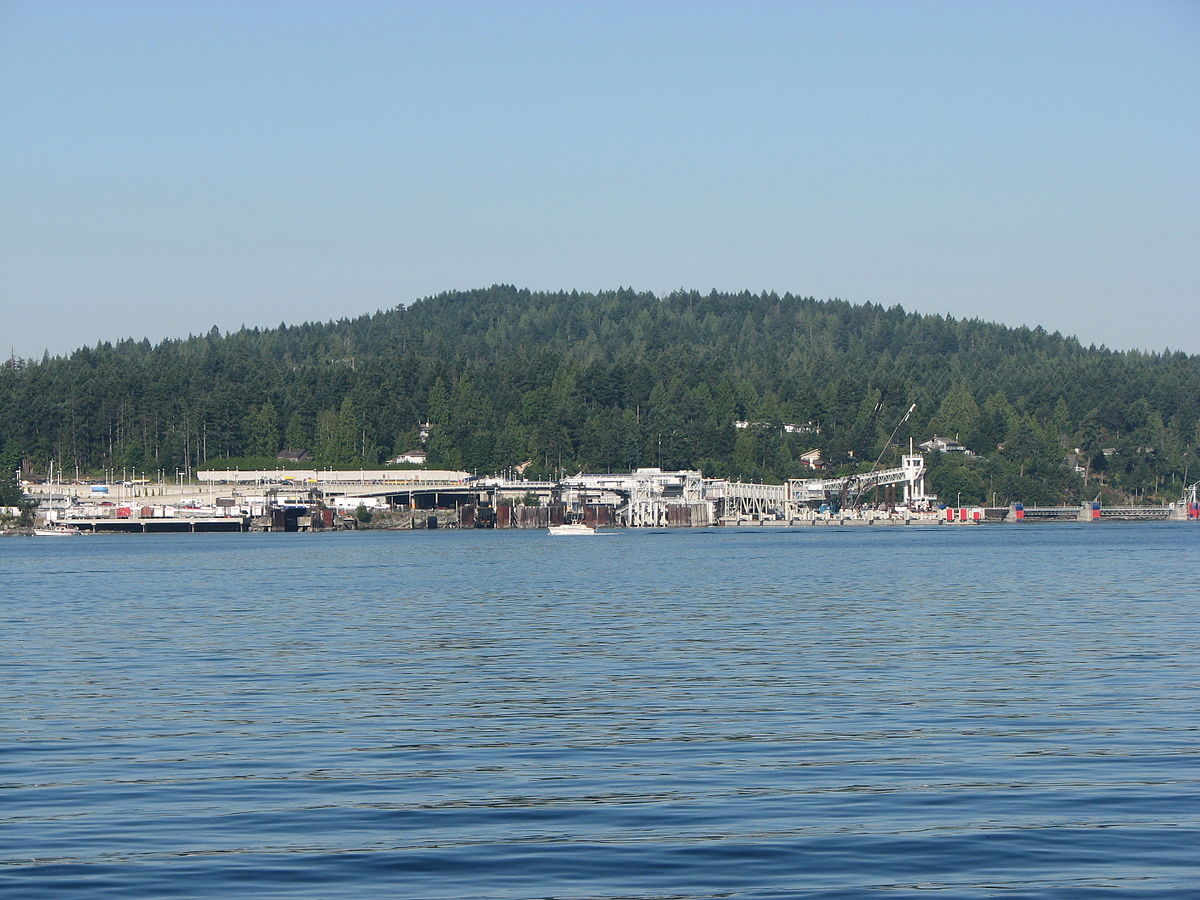 Ferry From Swartz Bay To Vancouver Island
