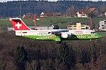Swiss International Air Lines BAE Systems Avro 146-RJ100 HB-IYS (22044933144).jpg