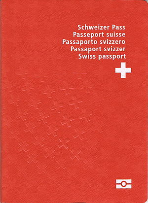 Frutiger (typeface) - Frutiger Condensed on the Swiss passport.