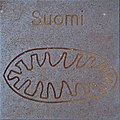 Symbol of Suomi by Helmut Blažej, Bleiburg.jpg