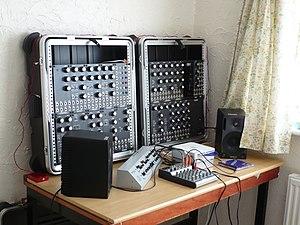 MOTM - MOTM modular synthesizer