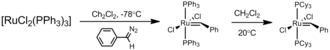 Grubbs' catalyst - Preparation of the first-generation Grubbs catalyst