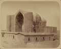 Syr Darya Oblast. City of Turkestan. General View of Sultan Akhmed Yassavi's Mausoleum from the Southern Side. WDL2468.png