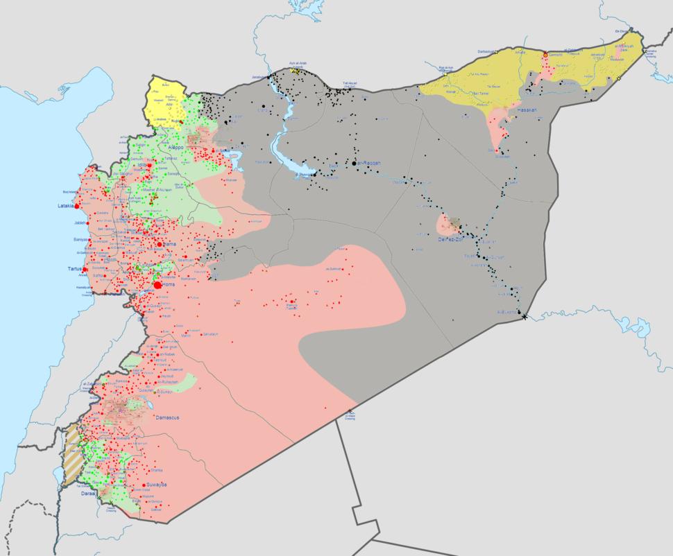 Syrian civil war 24-11-14