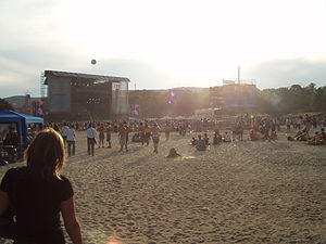 Music of Hungary - Main stage of Sziget Festival in 2006