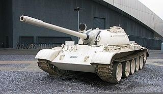 T-54/T-55 1946 main battle tank family of Soviet origin