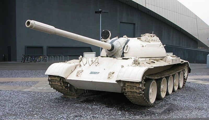 """سد النهضة الاثيوبي """" ملف شامل """" الجزء الثاني: الخيار العسكري ( موضوع فريق فرسان المجد ) 800px-T-55_4"""