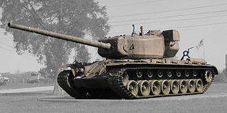 T29 Heavy Tank - T29 at the General George Patton Museum in 2007