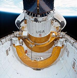 Inertial Upper Stage - Image: TDRS C ASE