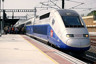 SNCF - A high-speed train TGV Duplex from the SNCF