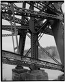TRESTLE SUPPORT BRACING - Coram Bridge, Spanning Flathead River, Coram, Flathead County, MT HAER MONT,15-COR.V,1-10.tif