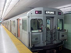 TTC H6 Train at St George.jpg
