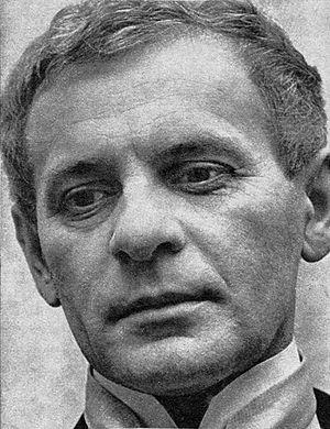 Tadeusz Łomnicki - Tadeusz Łomnicki in 1969