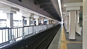 Takadanobaba Station - Image: Takadanobaba Station Seibu platforms 20160323