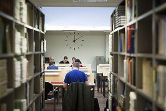 Tallinn University of Applied Sciences - Image: Tallinna Tehnikakõrgkooli raamatukogu, 2013